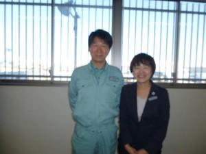 足立社長と李
