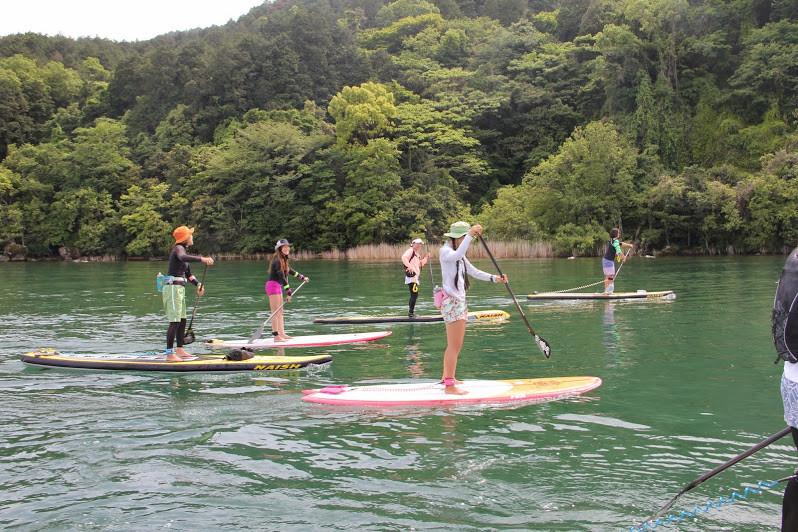 【職場旅行】琵琶湖で話題のSUP体験 1泊2日の旅