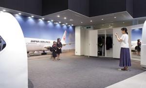JAL制服体験