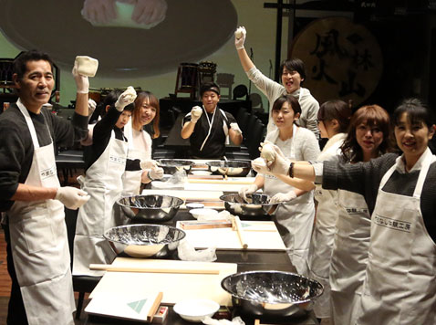 【山梨日帰り】ほうとう作り体験・ワイナリー・味覚狩り堪能コース
